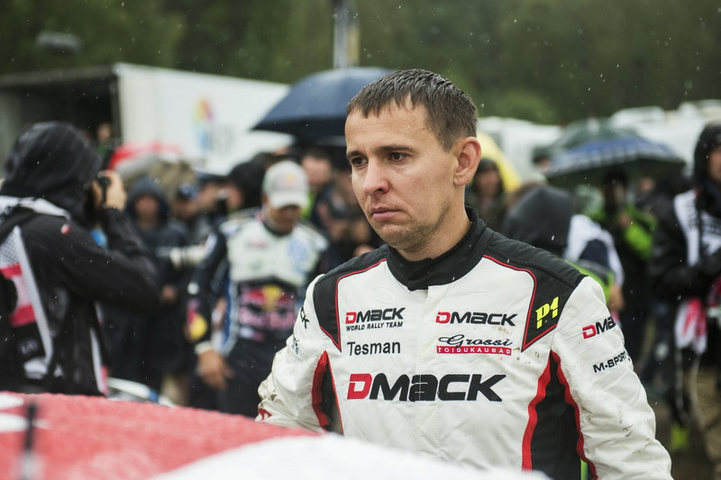 Raigo Molder, DMACK World Rally Team