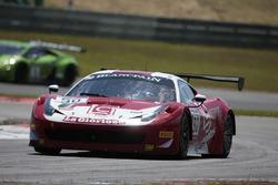 #90 AF Corse, Ferrari 488 GT3: Ezequiel Perez Companc, Raffaele Giammaria
