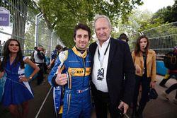 Nicolas Prost, Renault e.Dams con Jerome Stoll, Renault