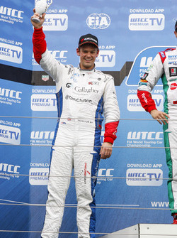Podium: second place Tom Chilton, Sébastien Loeb Racing, Citroën C-Elysée WTCC