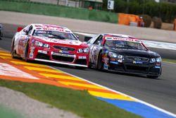 Matthias Lauda, Freddie Hunt, DF-1 Racing Team, Chevrolet SS; Brandon Gdovic, Christian Malcharek, PK Carsport, Chevrolet SS