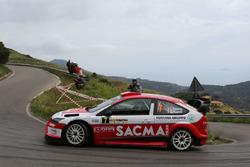 Luigi Fontana e Roberto Mometti, Ford Focus WRC, Bluthunder Racing Italy