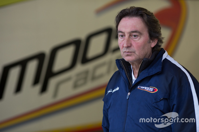 Adrian Campos, Campos Racing director del equipo