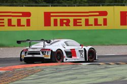 #75 ISR, Audi R8 LMS: Filip Salaquarda, Frank Stippler, Marlon Stockinger