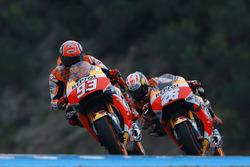 Marc Marquez, Repsol Honda Team und Dani Pedrosa, Repsol Honda Team