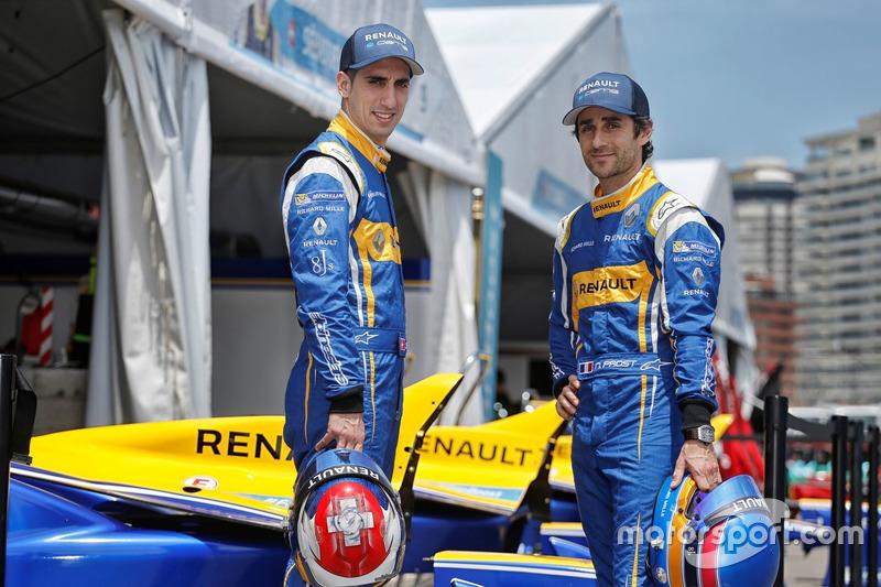 Sébastien Buemi, Nicolas Prost, Renault e.dams