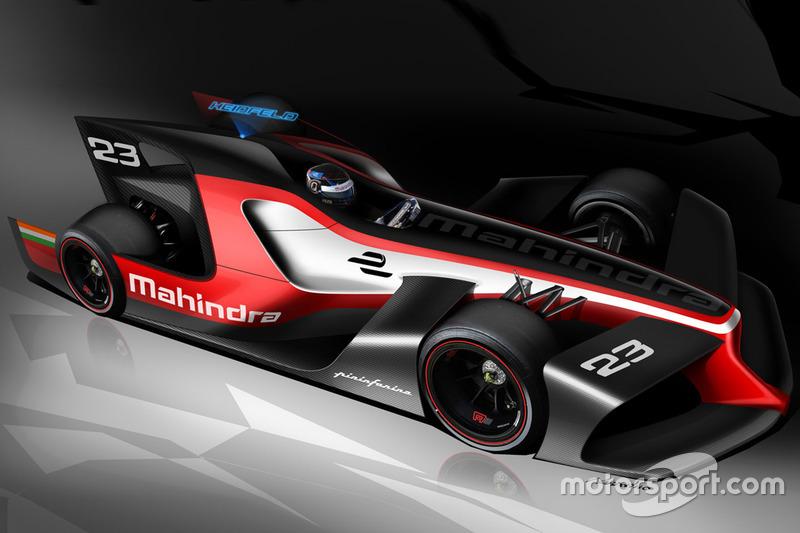 Designstudie von Mahindra Racing und Pininfarina