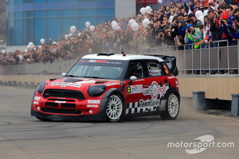 2013 год – Геннадий Брославский и Михаил Гендельман, Mini JCW WRC