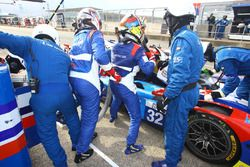 #32 SMP Racing BR 01 Nissan: Stefano Coletti, Julian Leal, Andreas Wirth pilot change
