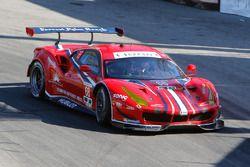 #68 Scuderia Corsa Ferrari 488 GTE: Alessandro Balzan, Daniel Serra