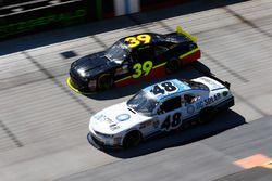 Brennan Poole, Chip Ganassi Racing Chevrolet, Ryan Sieg, RSS Racing Chevrolet