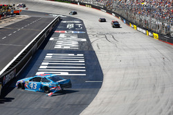 Aric Almirola, Richard Petty Motorsports Ford crash