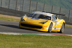 #37 Scuderia Praha, Ferrari 458: Jan Danis