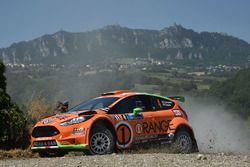 Simone Campedelli, Danilo Fappani, Ford Fiesta GPL R R5, Orange 1 Racing