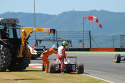 Mick Schumacher, Prema Powerteam withdraws from the race after the incident with teammate Juan Manuel Correa, Prema Powerteam