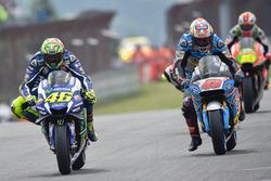Valentino Rossi, Yamaha Factory Racing et Jack Miller, Marc VDS Racing Honda