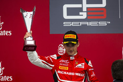 Podium: 2. Charles Leclerc, ART Grand Prix