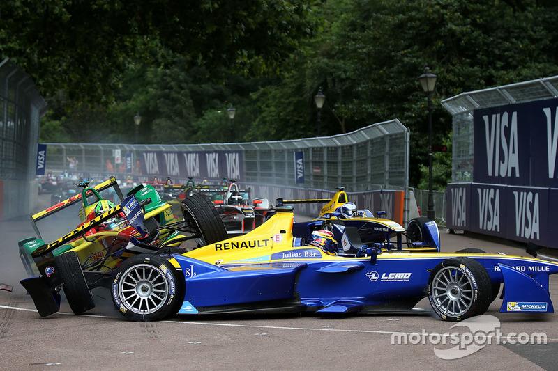 Na segunda temporada, Di Grassi e Buemi disputaram o título até a última etapa