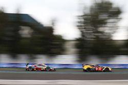 #50 Larbre Competition Corvette C7.R: Ricky Taylor, Yutaka Yamagishi, Pierre Ragues; #71 AF Corse Ferrari 488 GTE: Davide Rigon, Sam Bird