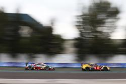 #50 Larbre Competition Corvette C7.R: Ricky Taylor, Yutaka Yamagishi, Pierre Ragues; #71 AF Corse Fe