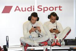 Andre Lotterer, Benoit Tréluyer, Audi Sport Team Joest