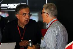 Sergio Marchionne, Ferrari-Präsident; Piero Ferrari, Ferrari-Vizepräsident