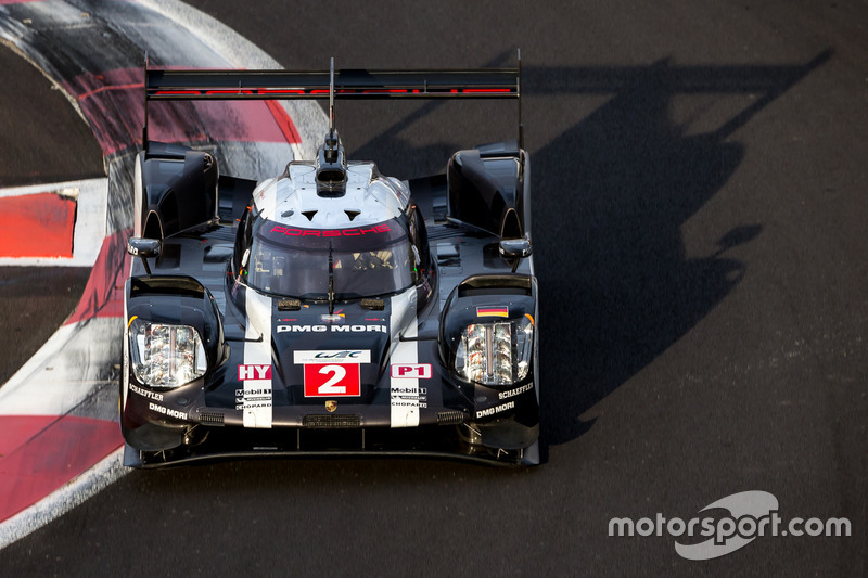 6. #2 Porsche Team Porsche 919 Hybrid: Romain Dumas, Neel Jani, Marc Lieb