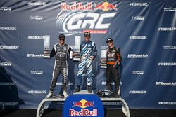 Podium: first place Scott Speed, Volkswagen, second place Patrik Sandell, Ford, third place Brian Deegan, Ford