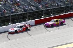 Ty Dillon, Richard Childress Racing Chevrolet, Kyle Larson, Chip Ganassi Racing Chevrolet