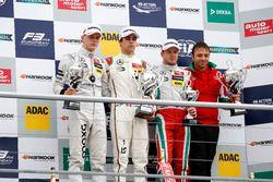 Podium: race winner Lance Stroll, Prema Powerteam Dallara F312 - Mercedes-Benz; second place Maximilian Günther, Prema Powerteam Dallara F312 - Mercedes-Benz; third place Nick Cassidy, Prema Powerteam Dallara F312 - Mercedes-Benz