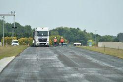 Le Mans Circuit Bugatti yeniden asfaltlanıyor
