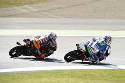 Enea Bastianini, Gresini Racing Team Moto3, Brad Binder, Red Bull KTM Ajo