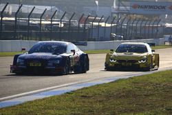 Rene Rast, Audi Sport Team Phoenix, Audi RS 5 DTM; Timo Glock, BMW Team RMG, BMW M4 DTM