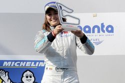 Podium: terecro, Tatiana Calderón, Teo Martin Motorsport