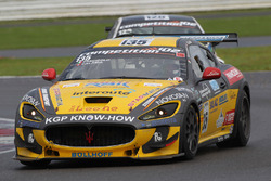 #135 Swiss Team, Maserati GranTurismo MC GT4: Mauro Calamia, Giuseppe Fascicolo