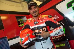 Davide Giugliano, Aruba.it Racing - Ducati SBK, casco conmemorativo