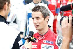 #8 Audi Sport Team Joest Audi R18 e-tron quattro: Oliver Jarvis