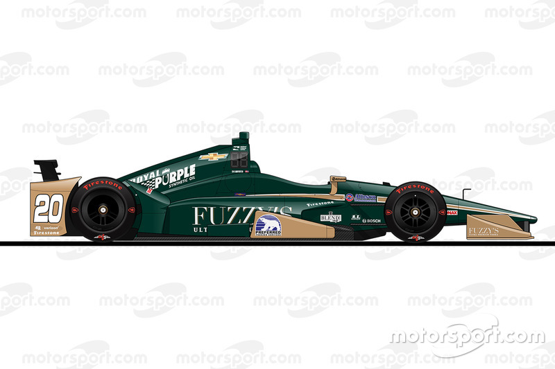 Startpositie 20: Ed Carpenter (Carpenter-Chevrolet)