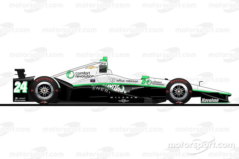 23. Сэдж Карам, Dreyer & Reinbold Racing Chevrolet