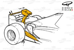 Задняя часть Ligier JS43, Гран При Монако