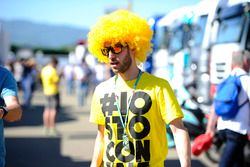 A fan of Valentino Rossi, Yamaha Factory Racing