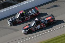 Christopher Bell, Kyle Busch Motorsports, Toyota; Rico Abreu, ThorSport Racing, Toyota