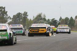 Leonel Pernia, Las Toscas Racing Chevrolet, Omar Martinez, Martinez Competicion Ford