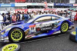 #19 Team Wedssport Bandoh, Lexus RC F: Yuhi Sekiguchi, Yuji Kunimoto