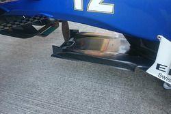 Sauber C35 splitter detail