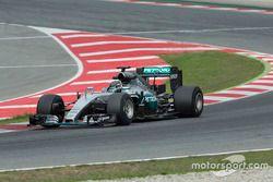 Nico Rosberg, Mercedes F1 Team, Pirelli teszt 2017
