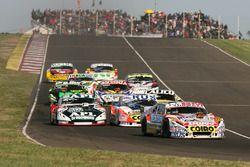 Sergio Alaux, Coiro Dole Racing Chevrolet, Juan Jose Ebarlin, Donto Racing Torino, Lionel Ugalde, Ug