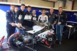 Il box di Michel Fabrizio, BMW S1000 RR