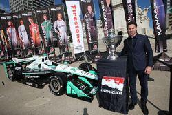 Le Champion Simon Pagenaud, Team Penske Chevrolet