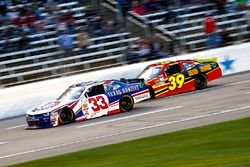 Brandon Jones, Richard Childress Racing Chevrolet; Ryan Sieg, RSS Racing Chevrolet